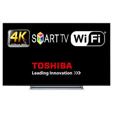 "Toshiba 43U6763 43"" Smart LED TV 4K Ultra HD WiFi HDMI With Freeview Play Tuner"