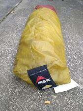 Msr 2 person tent hubba hubba red