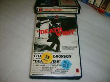 Betamax *DEATH WISH (1974)* Pre Cert RARE Early BRONSON RCA Opal Series 1st Issu