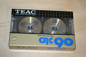 Teac CRC-90 Audio Cassette Tape Metal Made in Japan NEW NOS SEALED Bias High