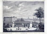 Dresden - große Lithographie 1840 selten!