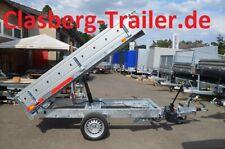 PKW Anhänger NEU Heckkipper 1500 Kg 2530x1500x300 mm Handpumpe