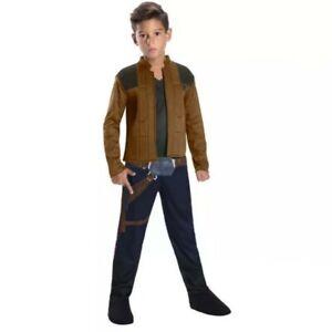 Disney Solo A Star Wars Story Han Solo Halloween Dress Up Costume Boys 5-7 years