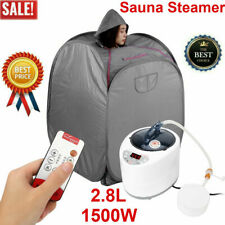 2.8L 1500W Sauna Steamer Tent Spa Salon Home Steam Slim Loss Weight Detox Device