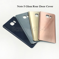 Replacement For Samsung Galaxy Note 5 N920F Back Glass Battery Cover+Adhesive