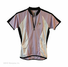 new Descente Aria women's road cycling jersey M breathable comfort fabric orquid