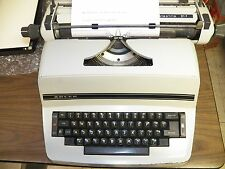 ADLER VINTAGE ELECTRIC TYPEWRITER  FOR PICK UP ONLY