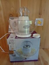 Nostalgia POP CANO Hot Air Popcorn Popper with Bowl Holds 24 Cups