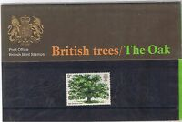 GB Presentation Pack No. 49 British Oak Trees 1973  MNH 10% OFF FOR ANY 5+