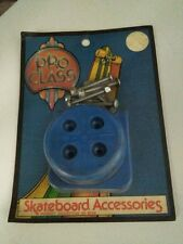 PRO CLASS SKATEBOARD ACCESSORIES 1978-OLD SCHOOL TAIL SAVER + KICK TAIL -NOS-VTG