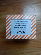 Assortment Alpha PVA Quick Change Marble Edge Polisher Pads 5 Pack