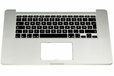 "Apple MacBook pro 15"" A1398 Retina Gehäuse Top Case Trackpad Akku Keyboard Cover"