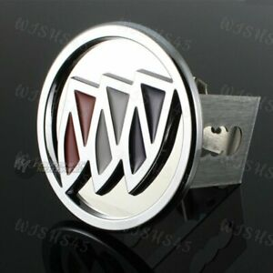 """Buick Chrome Stainless Steel Hitch Cover Cap Plug For 2"""" Trailer Tow Receiver"""