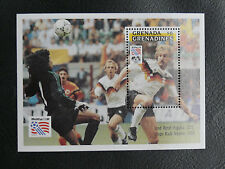 TIMBRES FOOTBALL : GRENADINES BLOC FEUILLET WORLD CUP 1994 NEUF