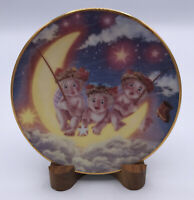 The Hamilton Collection by Kristin- Dreamsicles Plate- By The Light Of The Moon