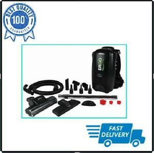 Black Backpack Vacuum Cleaner  Vac Blower Commercial Cleaning New