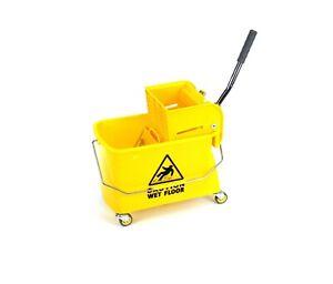 Mini Mop Bucket with Wringer 21 Quart ( 5.2 Gallon )