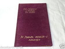 Kaufhaus N.Israel Berlin Die Hygiene im Wandel der Zeiten 1912 Buch Jugendstil