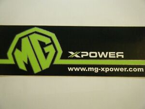 MG X POWER XPOWER STICKER SV