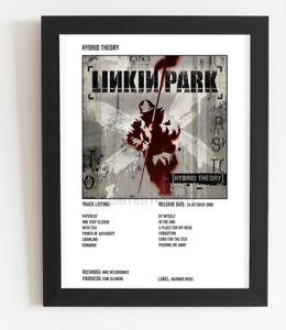 Linkin Park Poster Hybrid Theory Album Art Polaroid Style Rock Poster A5,A4,A3