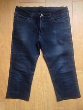 Longitud de 3/4 Super Skinny Jeans-Cut & Cosido