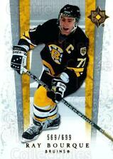 2006-07 UD Ultimate Collection #6 Ray Bourque