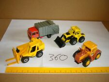 Konvolut Nr. 360 MATCHBOX-LESNEY MB-Trac, Sambron Jacklift, Tractor Shovel, Refu