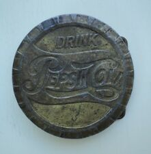 VINTAGE 1950s **DRINK PEPSI-COLA BOTTLE CAP** BELT BUCKLE; LEWIS BUCKLE CHICAGO