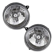 03-04 Jeep Liberty Set of Headlights