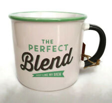 Jamie Oliver Slogan The Perfect Blend Just Like My Brew Coffee Mug Tea Cup 12 Oz
