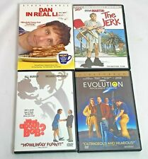 Lot Of 4 Comedy DVD's - Dan In Real Life, The Jerk, What About Bob      114