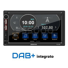 """7"""" 2DIN DAB+ RDS AM FM Autoradio Bluetooth MP5 Lettore Stereo 2 USB SD AUX IN IT"""