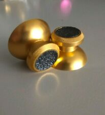 PS4, Xbox One Metal Thumbsticks with GRIPS, Gold