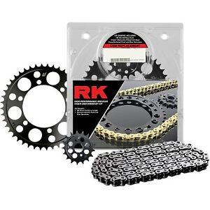 RK - 4092-150E - 525 Steel Chain/Sprocket Kit, Natural Yamaha FZ-09
