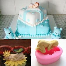 Baby Shower Silicone Fondant Cake Mold Chocolate Soap MoldSugarcraft Baking Tool