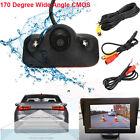 170°CMOS Car Rear View Reverse Backup Parking Camera Waterproof Night Vision 12V