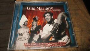 Cd album-Luis Mariano-Les + belles opérettes-Neuf sous cello-