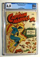 Captain Marvel Jr. #29 (Fawcett April 1945) CGC 6.0 WHITE Pages Higher Grade