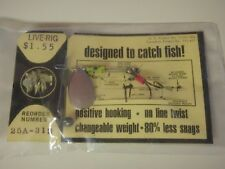 Rare Keel Guard Fishing Lure Live Rig 25A-313 Trout Bass Collectible