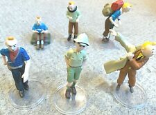 Set of 6 Plastoy Tintin Figurines Full set/INDIVIDUAL PURCHASE Herge figures