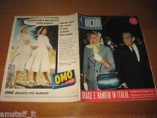 INCOM 1957/19=GRACE KELLY=GRIMALDI DI MONACO=ELIZABETH TAYLOR=MARIA SCHELL=