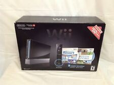 Nintendo Wii Wii Sports Resort and Wii Remote Plus Black Console