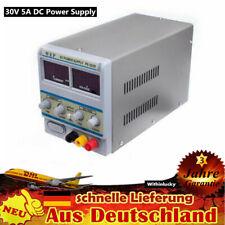 Labornetzgerät Labornetzteil DC Trafo Regelbar Stabilisiert 30V 5A Power Supply