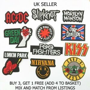 Fashion Patches Sew Iron On Patch Clothes Applique Badge Craft Individual Punk