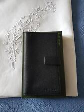 portefeuille porte-monnaie porte carte Longchamp cuir noir neuf boite d' origine