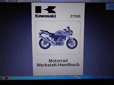 Werkstatthandbuch Reparaturanleitung KAWASAKI  Z 750 S (ZR 750-K1H)