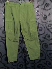 DIESEL Mens Green Paynal Pantaloni Cargo Pants Trousers 100% Cotton Size 29 NWT