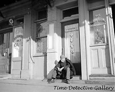 Chinese Man in Sacramento, California Chinatown - 1936 - Historic Photo Print