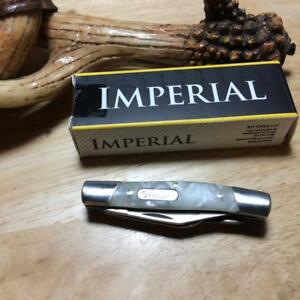 """Imperial Schrade Cracked Ice Small Stockman 2 5/8"""" Pocket Knife IMP14"""