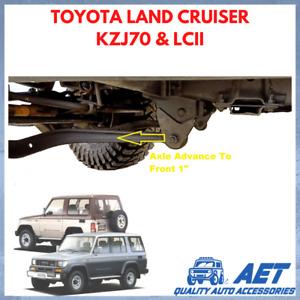 "Caster Bracket Advance 1"" To Front Toyota Land Cruiser ll LJ79 KZJ70 KZJ79"
